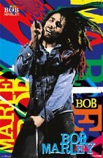 2012 BOB MARLEY NAME POSTER 22x34 NEW REGGAE MUSIC FREE SHIPPING