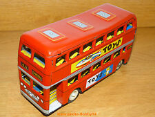 BUS EN TÔLE ANCIEN MADE IN CHINA MF 844 FRICTION TIN TOY