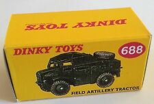 Dinky 688 Field Artillery Tractor Empty Repro Box Only