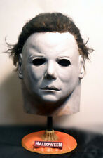 Halloween PUMPKIN TOP  MICHAEL MYERS MASK STAND..FREDDY JASON