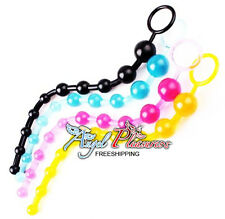 Beads Jelly plug Butt Anal Toys for men or women - color random - Free Shipping