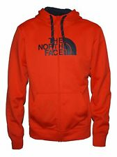 New The North Face Mens Surgent Half Dome FZ jacket Orange Medium hoodie