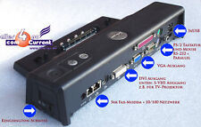 Port Replicator dell para portátiles Latitude d510 d520 d530 d600 d830 replicante