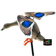 NEW LUCKY DUCK RAPID FLYER MALLARD HEN FLAPPING WING MOTION DECOY