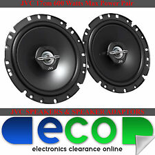 Renault Clio 13-14 JVC 17cm 6.5 Inch 600 Watts 2 Way Front Door Car Speakers
