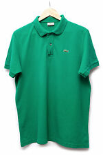 LACOSTE Polo Shirt, dark green, T-Shirt/Polo shirt, size XL