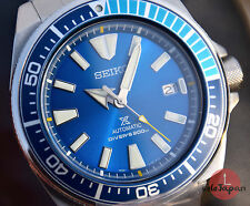 SEIKO SRPB09K1 Prospex Blue Lagoon SAMURAI Limited Edition.Shipping from SPAIN.