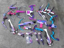 lot 22 Nerf Rebelle blaster & bows Sweet Attacker Guardian Crossbow Rapid Red