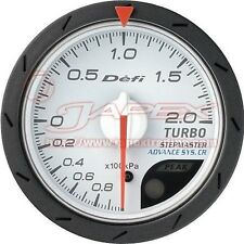 Defi Link ADVANCE CR Boost gauge 200kPa White face 52mm Blue/Amber red DF07801