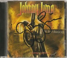 Johnny Lima - My Revolution (Limited Edition - Autographed by Johnny Lima) Rare