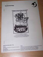 MUPPET MOVIE - Werberatschlag ´79 - JIM HENSON