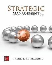 Strategic Management: Concepts with Connect Plus, Rothaermel, Frank, New Book