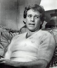 "1981 Vintage Photo Portrait during filming actor Ryan O'Neal in ""So Fine"" movie"