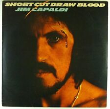 """12"""" LP - Jim Capaldi - Short Cut Draw Blood - A3946 - washed & cleaned"""