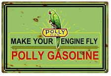 "Reproduction Your Engine Fly Gasoline Sign 12""x18"""