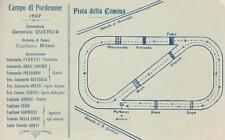 C144) PORDENONE, PISTA DELLA COMINA, CAMPO DI CAVALLERIA 1907. VIAGGIATA.