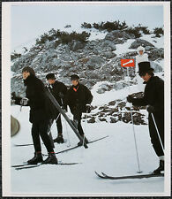 THE BEATLES POSTER PAGE . 1965 FILMING HELP! MOVIE IN OBERTAUERN  . V18