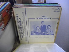 Carter Family Anthology of Country Music Gold Watch & Chain LP ACM EX in Shrink