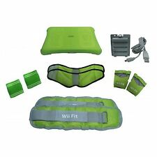 Wii Fit Activo Kit leg/arm weights/gloves/wrist bands/rechargeable paquete de batería