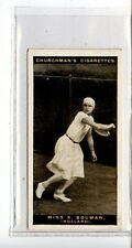 (Jc7409-100)  CHURCHMANS,LAWN TENNIS,MISS K.BOUMAN,1928,#8