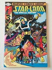 Star-Lord Special Edition #1 1982 Guardians of the Galaxy Starlord FN 7.0