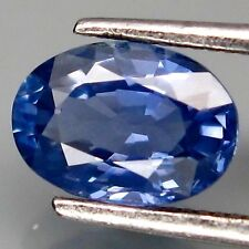 1.04 CT SAPPHIRE, OVAL, BRIGHT CORNFLOWER BLUE, EARTH MINED, HEATED ONLY,  VS