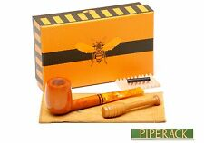 SAVINELLI MIELE HONEY BEES WAX - BRIAR PIPE  128 TAMPER - SMOOTH - 6MM FILTER