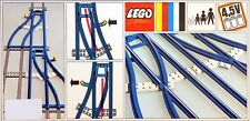 New LEGO 4.5v Trains 154 Switch Track 1-Left 1- Right  Sealed RARE 1967'