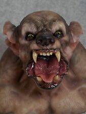 Andy Bergholtz Wolf Translucent Resin Bust