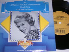"""7"""" - Carole King It might as well rain until September - UK 1983 MINT # 4835"""