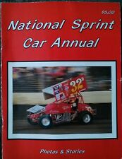 National Sprint Car Annual 1990 Auto Racing Association Results Sanctions Rare!