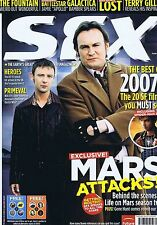 LIFE ON MARS / TERRY GILLIAM / HEROES SFX no. 153 Feb 2007