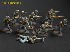 airfix/plastic 1/32 professionally painted German Afrika Korps ww2.