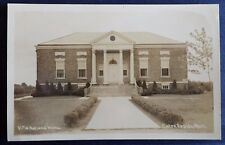 Vintage Sepia Postcard of V. F. W. National Home in Eaton Rapids, Michigan