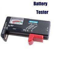Testeur de Batterie Pile AA AAA C D R03 LR6 9V Bouton - HOT
