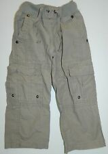 PUMPKIN PATCH boys girls Gray Cotton CARGO PANTS* 24 months