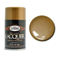 Testors BRONZE LACQUER SPRAY PAINT CAN Model Hobby RC