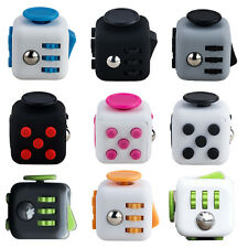 Hot Fidget Cube Desk Toy Anti Irritability Dice Stress Reliver For Christmas Toy