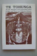 Te Tohunga Alte Sagen aus Maoriland Bild Wort von Wilhelm Dittmer Indianer