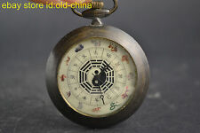 Clock Vintage Collectible Copper 12 Zodiac Animal Used Mechanical Pocket Watch