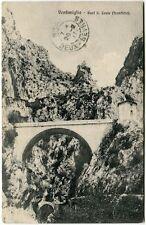1911 Ventimiglia Pont S. Louis Frontiera Deux Sevres France FP B/N VG