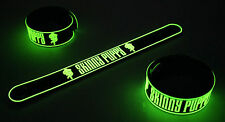 SKINNY PUPPY NEW! Glow in the Dark Rubber Bracelet Wristband Assimilate vg291
