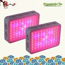 2PC 300W Led Grow Light full spectrum panel Real IR Indoor Medical Plants Growth