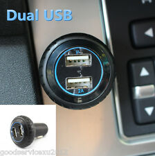 New Type Black Wheel Tire Dual USB Vehicle SUV Smart Phone Power Charger Adapter
