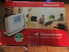 HONEYWELL CMT927 WIRELESS PROGRAMMABLE THERMOSTAT RF CHRONOTHERM CMT927A1049