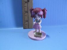 "#534 Gundam Seed Anime 2.5""in Girl Figure Looks to be Washing Her Skirt"