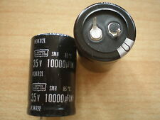 10000UF 35V Snap in capacitor Nippon Chemicon 2pcs £5.00 item 2010
