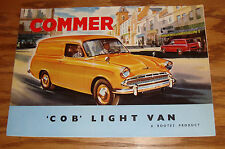 Original 1960s Commer Cob Light Van Foldout Sales Brochure