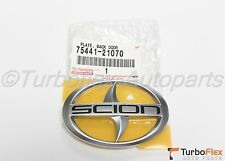 Scion tC 2005-2010 Rear Trunk Logo Emblem Genuine OEM      75441-21070