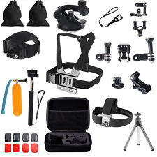 30 in 1 Sports Action Camera Kit Go Pro Hero Equipment  Accessories Outdoor Set